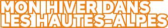 Mon hiver dans les Hautes-Alpes Logo